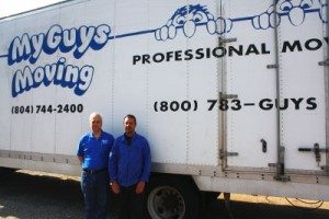 Local movers, My Guys movers