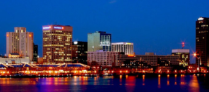 Downtown Norfolk Virginia